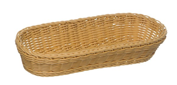 Baguette Korb, oval 28 x 16 cm, H: 8 cm