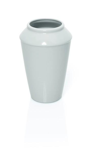 Porzellanvase für Blumen, zylinderförmig
