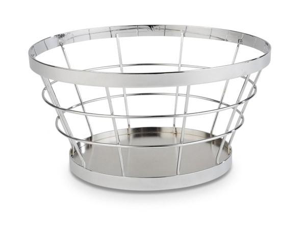 """Buffetkorb, Buffetständer, Serie """"Basket"""", silber, konisch, 21/15 cm Ø, 11 cm Höhe"""