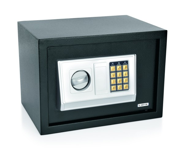 Zimmersafe, 3-8 stelliger Pincode - 3 mm Tür mit doppeltem Bolzen