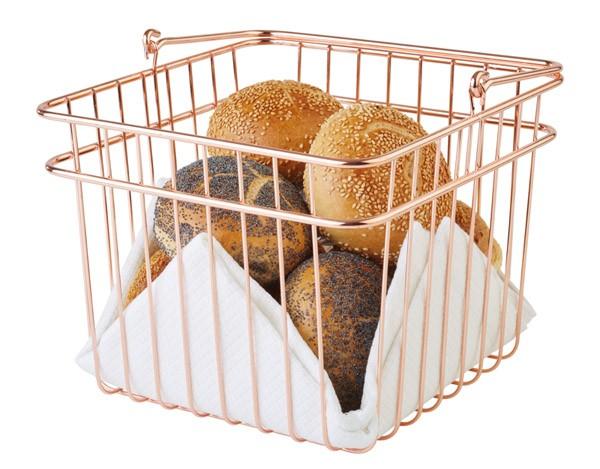 Brot- und Obstkorb 24 x 24 cm, H: 21 cm