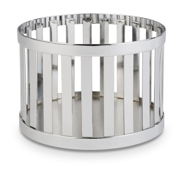 """Buffetkorb, Buffetständer, Serie """"Basket"""", silber, rund, 15 und 21 cm Ø wählbar"""