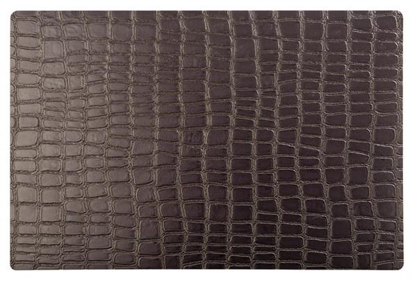 Tischset - braun -CROCO- 45 x 30 cm