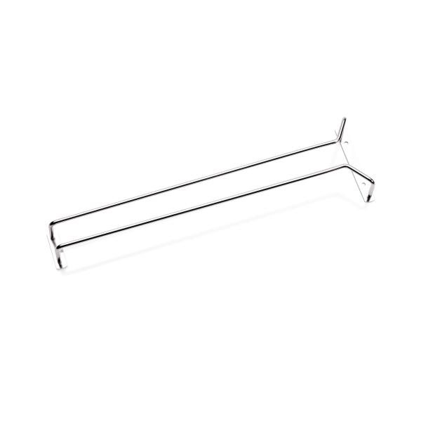 Gläserschiene, 41,5 cm, verchromt