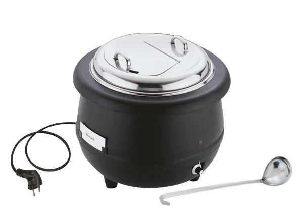 Elektrischer Suppentopf Ø 40 cm, H: 37 cm, 10 Liter