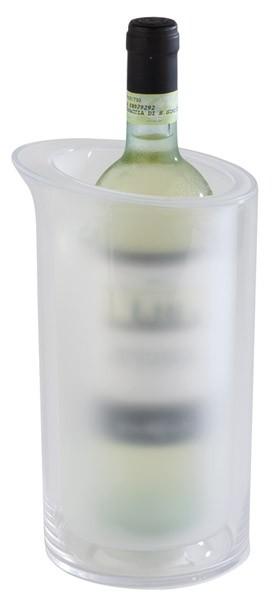 Flaschenkühler -ICE- außen Ø 14 cm, H: 23,5 cm