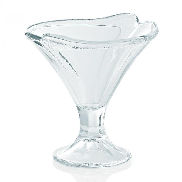 Eisbecher, Glas, 300 ml Inhalt, 14 cm Höhe
