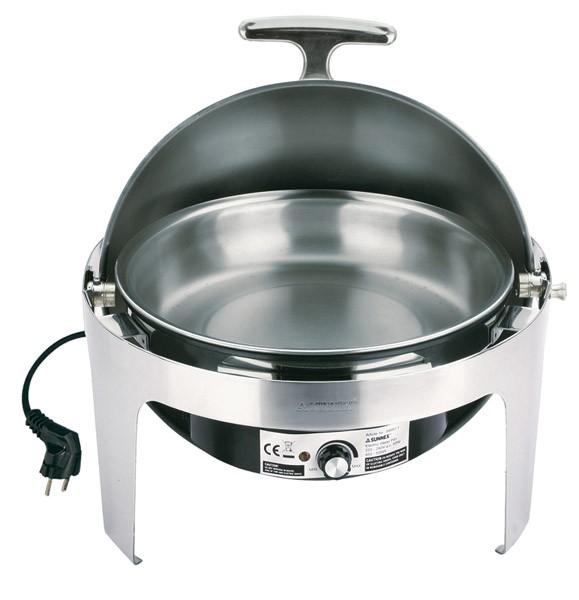 Rolltop-Chafing Dish -ELITE- Ø 45 cm, H: 45 cm, 6,8 Liter