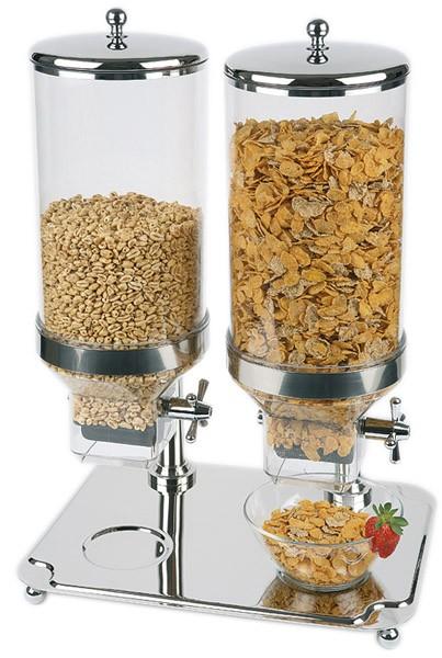 Cerealienspender -Classic- Duo ca. 35 x 50 cm, Höhe 68 cm