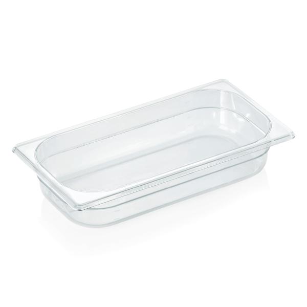 GN Behälter 1/3-065 mm, Polycarbonat