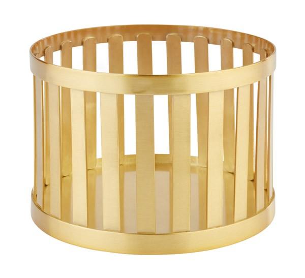 """Buffetkorb, Buffetständer, Serie """"Basket"""", gold, rund, 15 und 21 cm Ø wählbar"""
