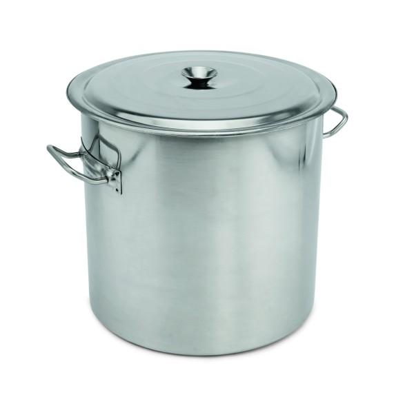 Abfallbehälter - mit Deckel und Seitengriffen (Ø 40 cm, Höhe: 38,0 cm, Inhalt: 47,5 ltr.)
