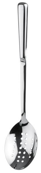 Servierlöffel, perforiert 9 x 6 cm, L: 32,5 cm