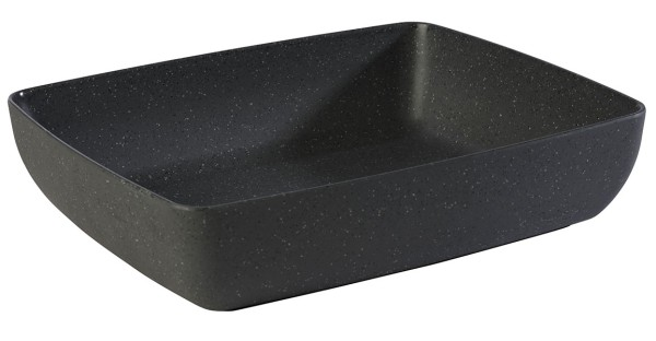 GN 1/2 Schale -FRIDA STONE- 32,5 x 26,5 cm, H: 7,5 cm
