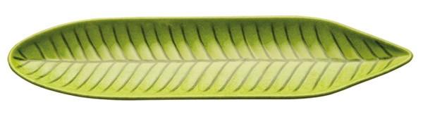 Blattschale 34,5 x 8 cm, H: 2,5 cm