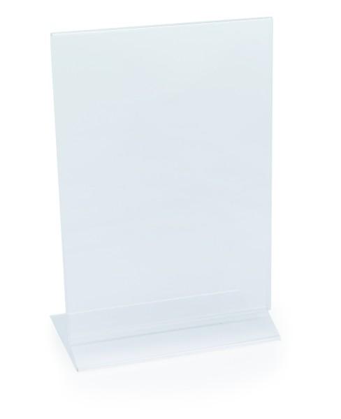 Kartenhalter aus Acryl, für DIN A5 oder DIN A4 Speisekarten