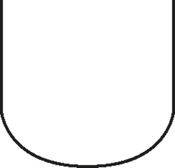 Pastetenform mit Deckel 8 x 7,5 cm, Länge 26 cm