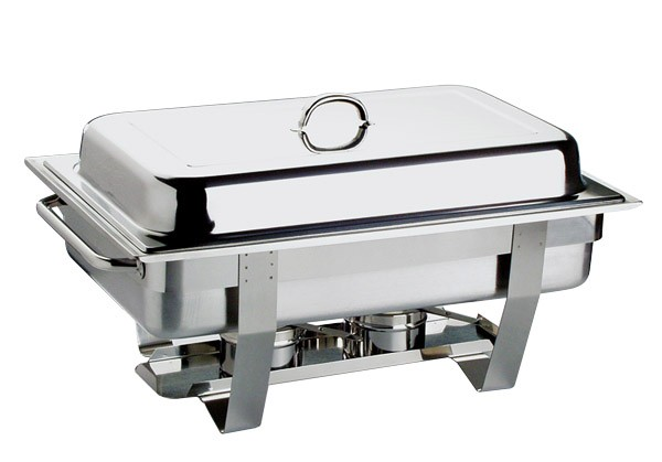 Chafing Dish -CHEF- 61 x 31 cm, H: 30 cm, 9 Liter
