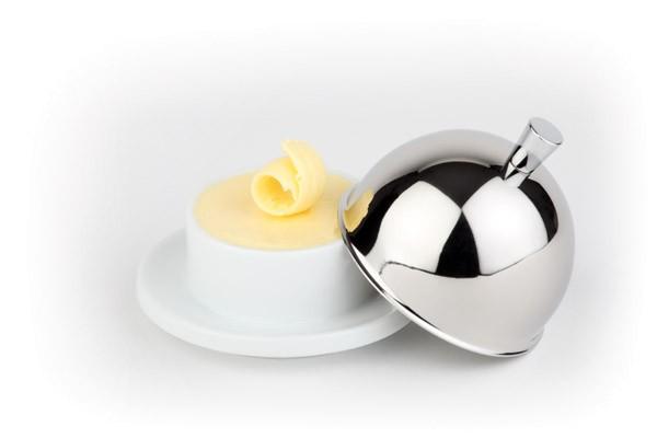 Butterservierer Ø 9 cm, H: 7 cm