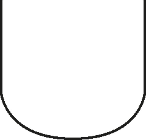 Pastetenform mit Deckel 5,5 x 5 cm, Länge 27,5 cm