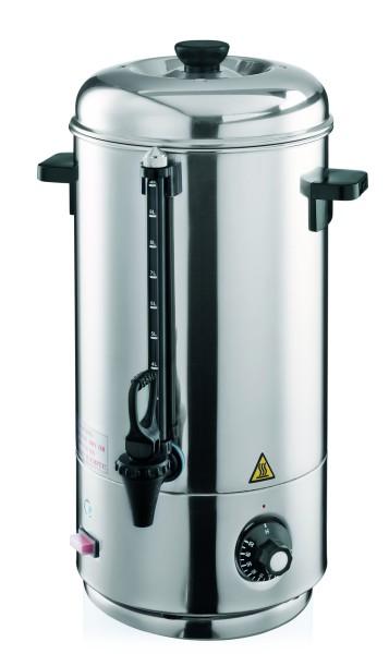 Wasserkocher aus CNS - mit Sicherheitsthermostat zum Schutz vor Überhitzung